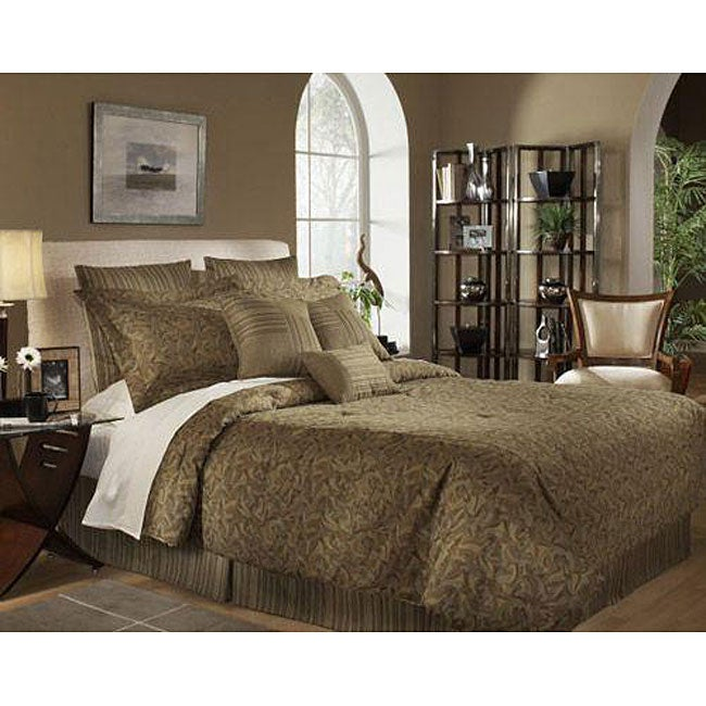 Peartree 9-piece or 11-piece Deluxe Bedding Ensemble