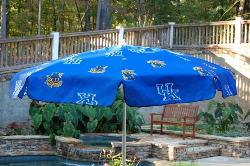 University Of Kentucky 7 5 Foot Patio Umbrella Free