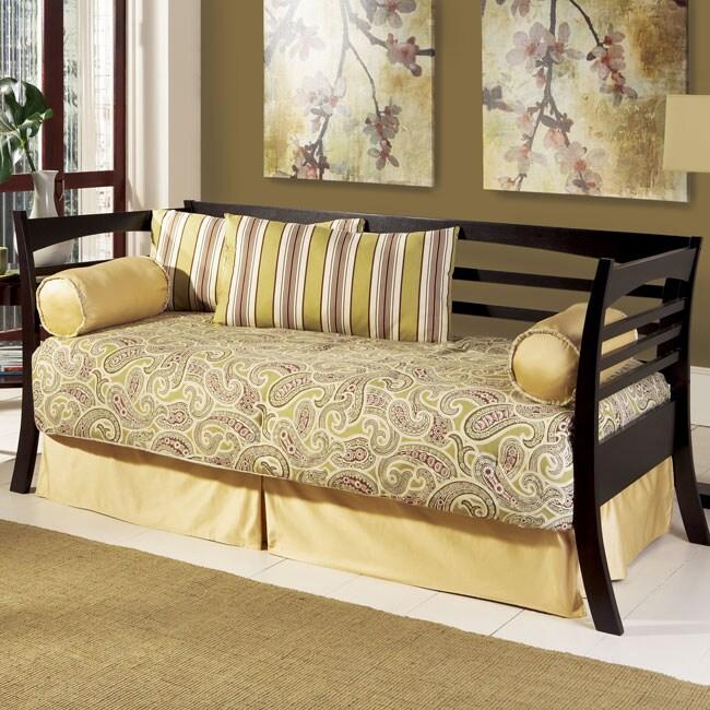 hudson linkspring daybed free shipping today 12331723. Black Bedroom Furniture Sets. Home Design Ideas