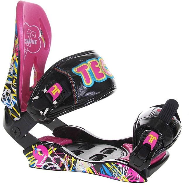 Shop Technine T9 Women's Snowboard Bindings (Size 9-11