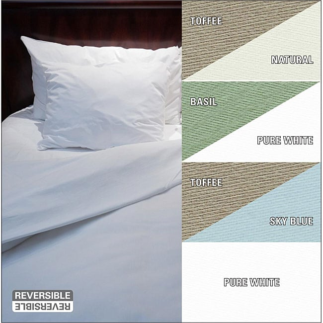 Full/ Queen 100-percent Organic Comb Cotton Duvet Cover
