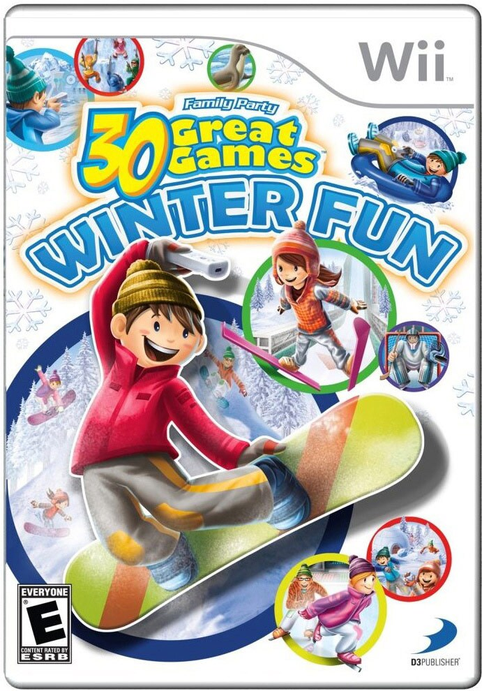 Wii - Family Party: 30 Great Games Winter Fun - By D3 Publishing