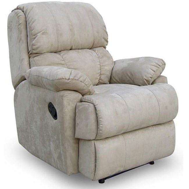Latte Microfibre Ergonomic Recliner Chair