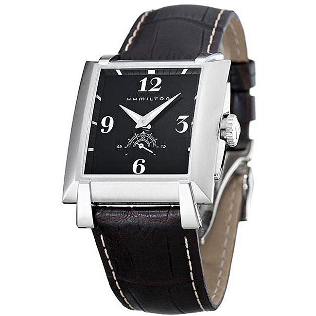 Hamilton Men's Vintage Trent Leather Strap Watch
