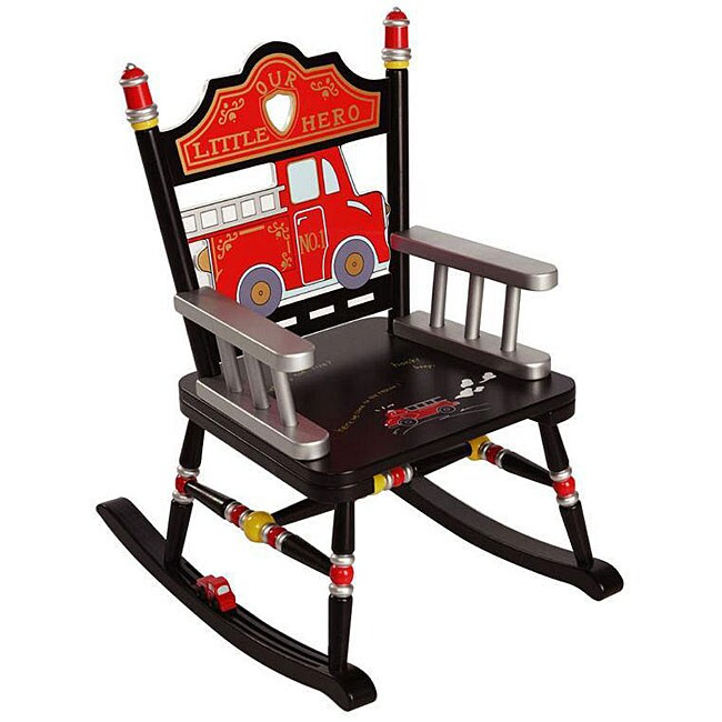 Fire Engine Rocking Chair