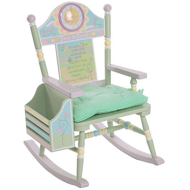 Shop Time To Read Girl S Rocking Chair Free Shipping