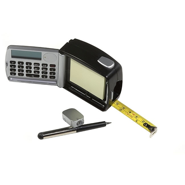 10-foot Five-in-one Tape Measure with Calculator and LED Light