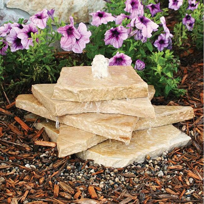 Aqua Rock Tsfs Fountain Kit With Tan Sandstone Free