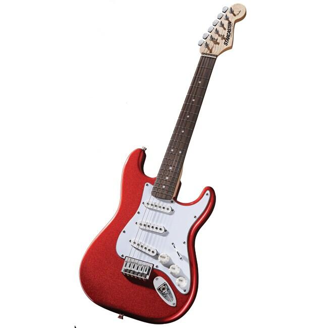 Fender Colt Red Sparkle 3/4-size Starcaster Guitar