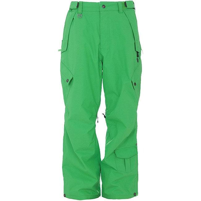 Sessions Men's Achilles 'Krypto Green' Snowboard Pants