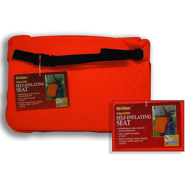 Blaze Orange Self-inflating Hunter's Seat