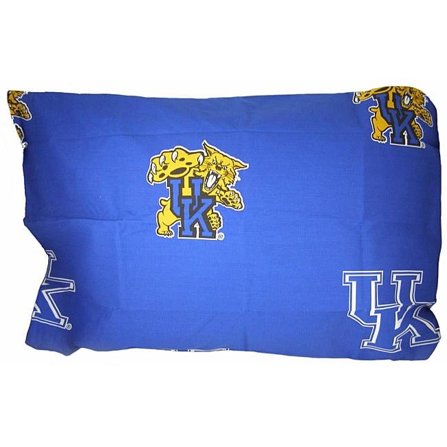 Kentucky Wildcats King Size Pillow Case