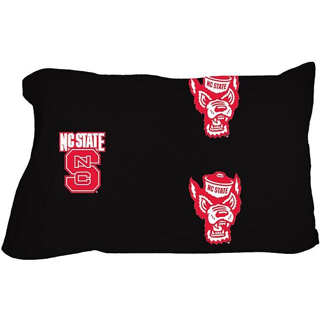 North Carolina State Wolfpack Cotton King-size Pillowcase