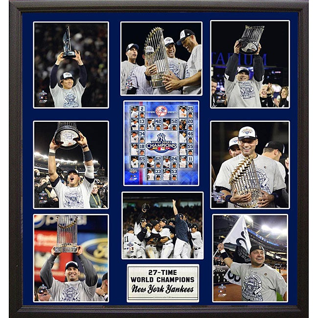 New York Yankees 2009 World Champions Photo Plaque