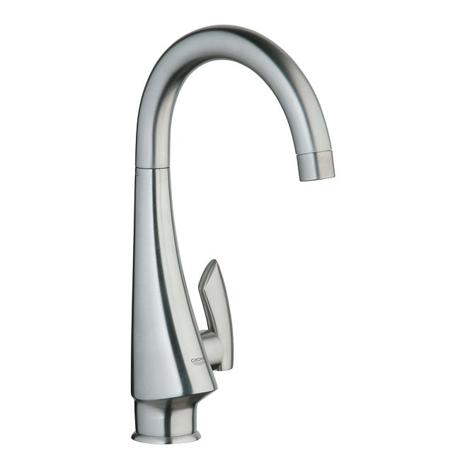 grohe k4 kitchen faucet grohe k4 basin pillar tap faucet overstock shopping great deals on grohe kitchen faucets 3762