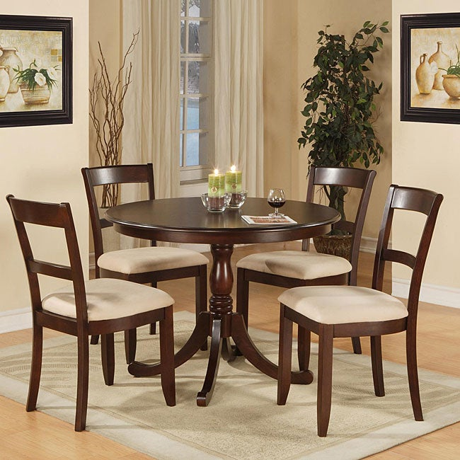 Elmhurst 5 Piece Dining Set Free Shipping Today 12363403
