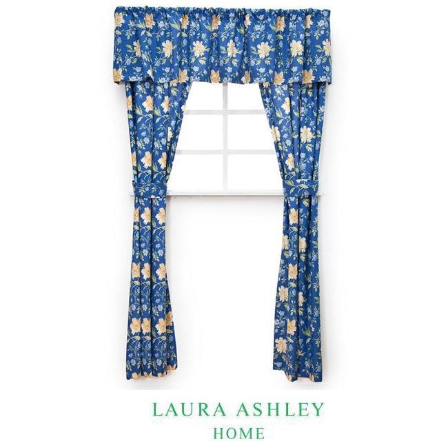 Laura Ashley Emilie 86-inch Window Treatment Set