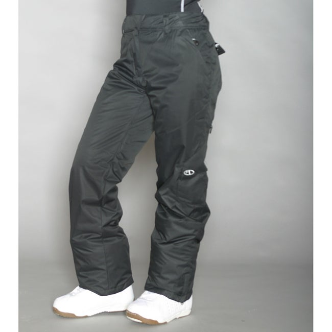 Marker Women's Black Insulated Cargo Pants - Thumbnail 0