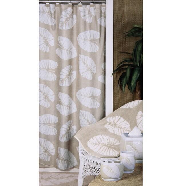Shop Echo Banana Leaves Shower Curtain