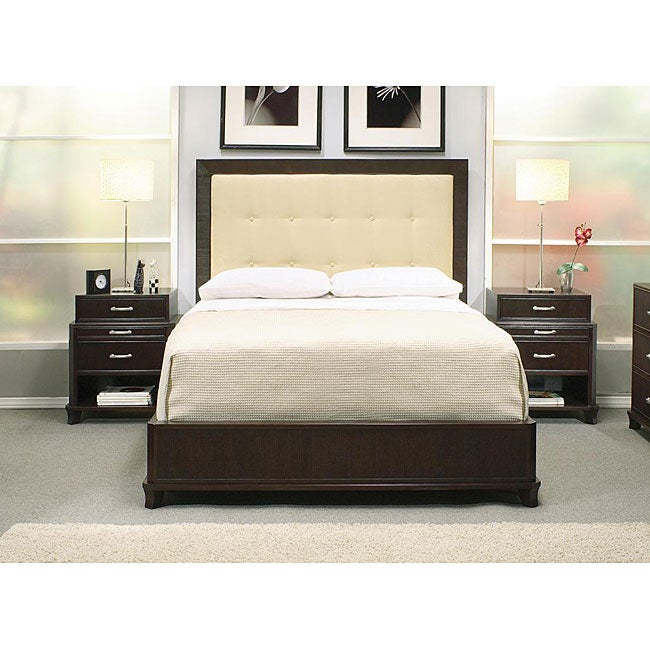 Manhattan 6 Piece Queen Bedroom Set Cherry: Shop Manhattan 3-piece Queen Bedroom Set