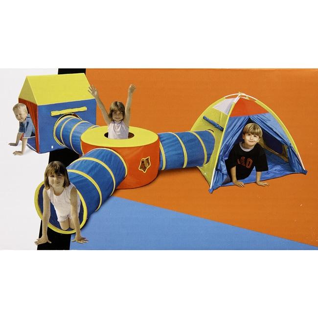 Hide 'N Seek 6-in-1 Tent & Tunnel Play Zone