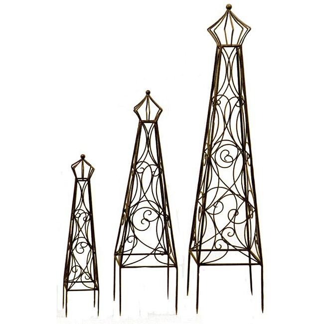 Deer Park Ironworks Crown Top Topiaries