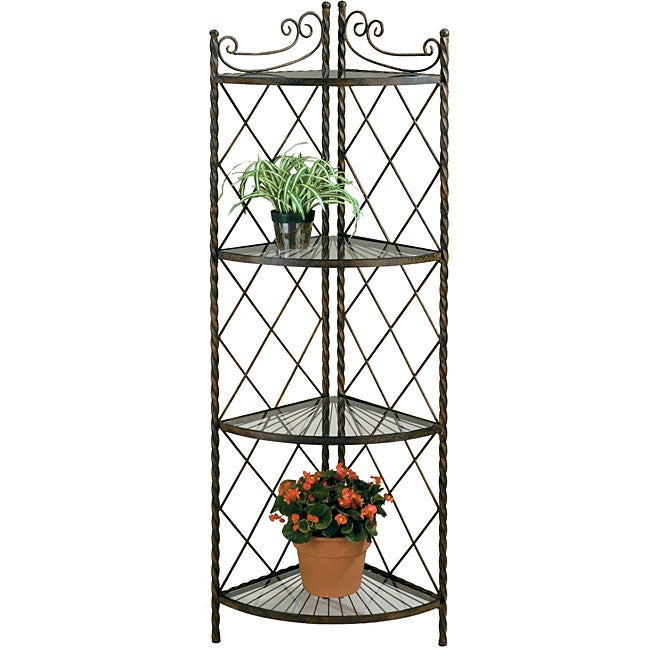 Deer Park Ironworks Lattice Corner Rack