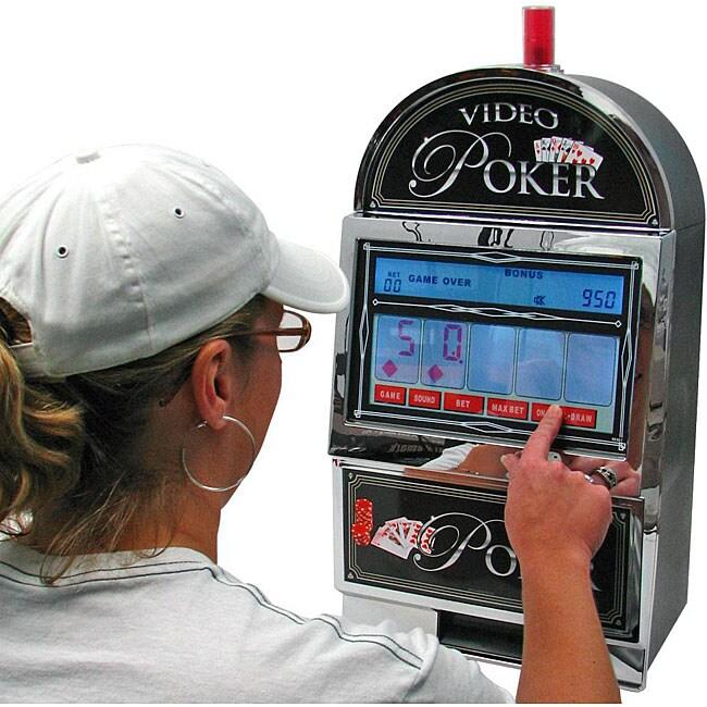 Bar Top Video Touch Screen Poker