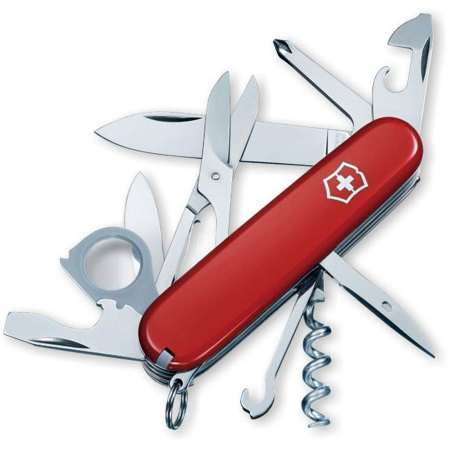 Swiss Army 'Explorer' 17-tool Red Pocket Knife