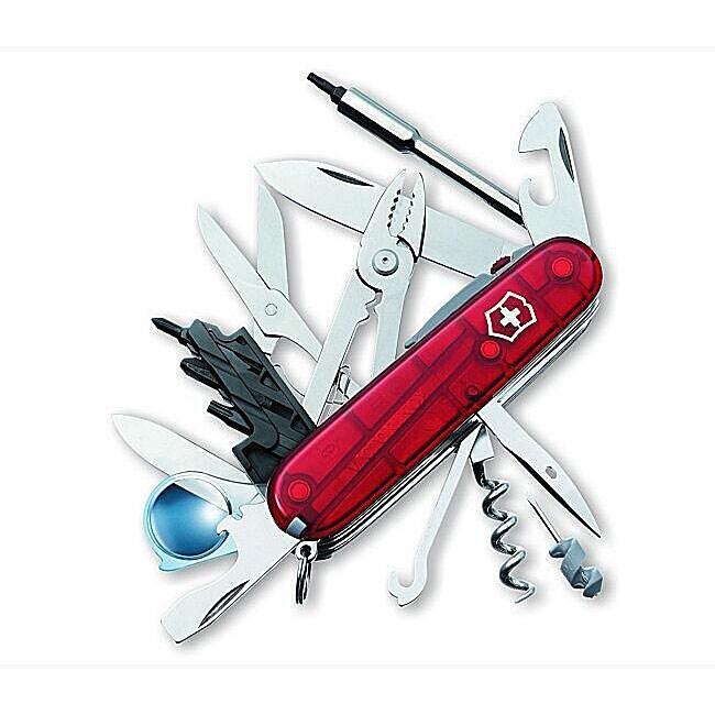 Swiss Army CyberTool Lite 35-tool Pocket Knife