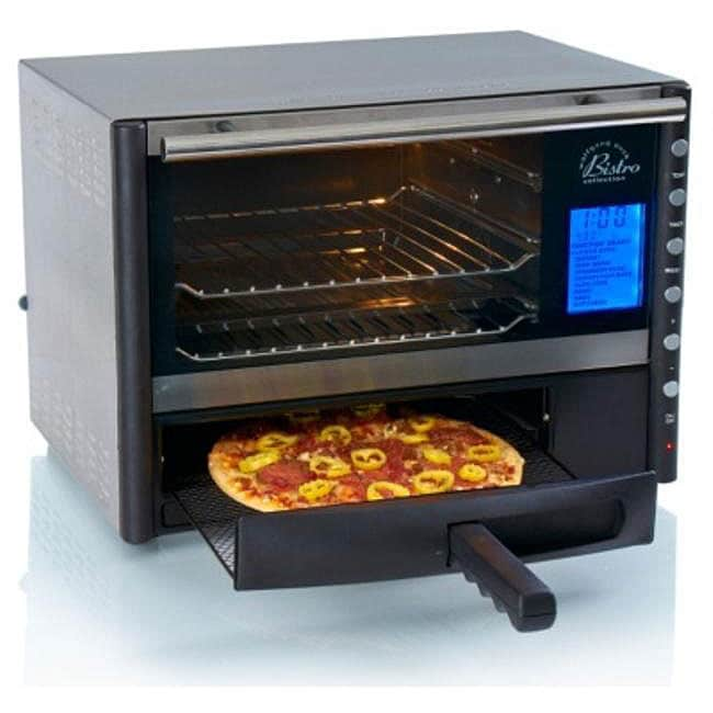 Shop Wolfgang Puck Heavy Duty Digital Convection Oven W Pizza Drawer Refurbished Free Shipping Today Overstock 4408534