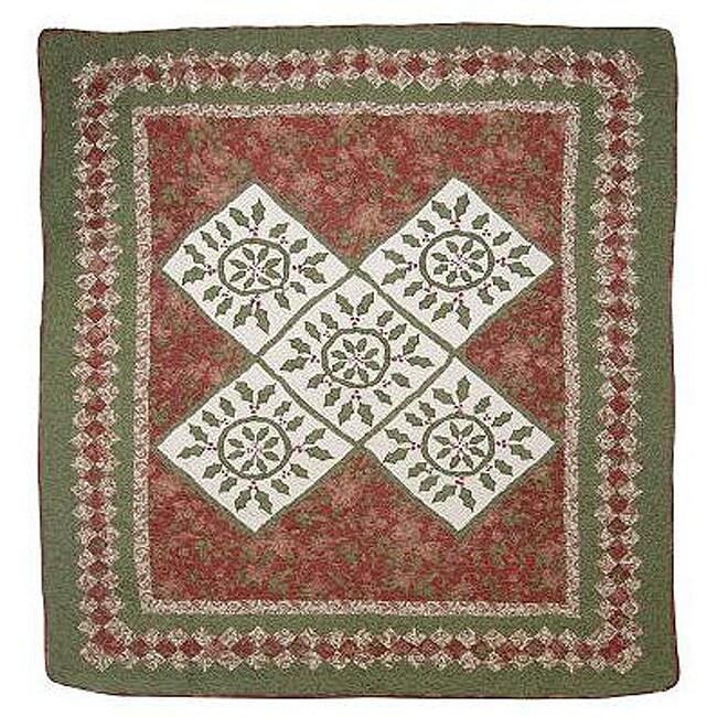 Hollyberry Throw Blanket