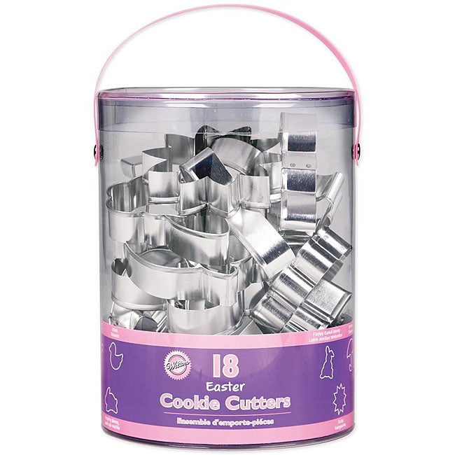 Wilton Easter Theme Metal Cookie Cutters (Pack of 18)