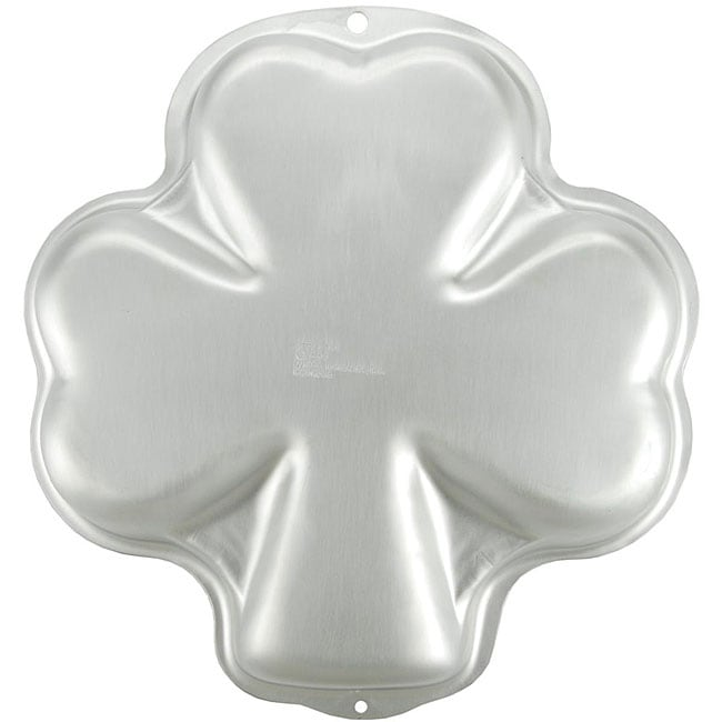 Shop Wilton Shamrock Novelty Cake Pan Free Shipping On
