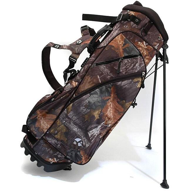 Pinemeadow Camouflage Dual-leg Golf Bag
