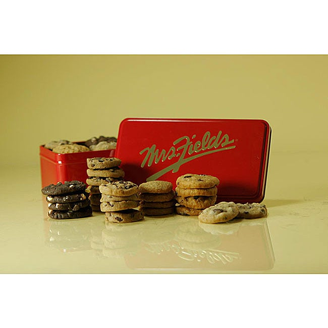 Mrs. Fields Nibblers Classic Cookie Gift Tin