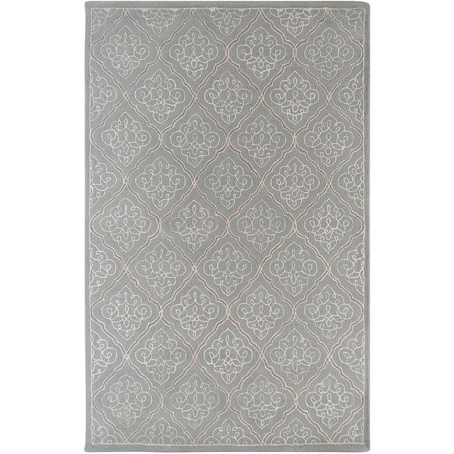 Hand-tufted Vintage New Zealand Wool Rug (5' x 8')