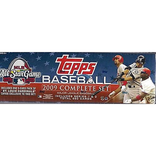 2009 Topps Baseball Complete 660 Card Set