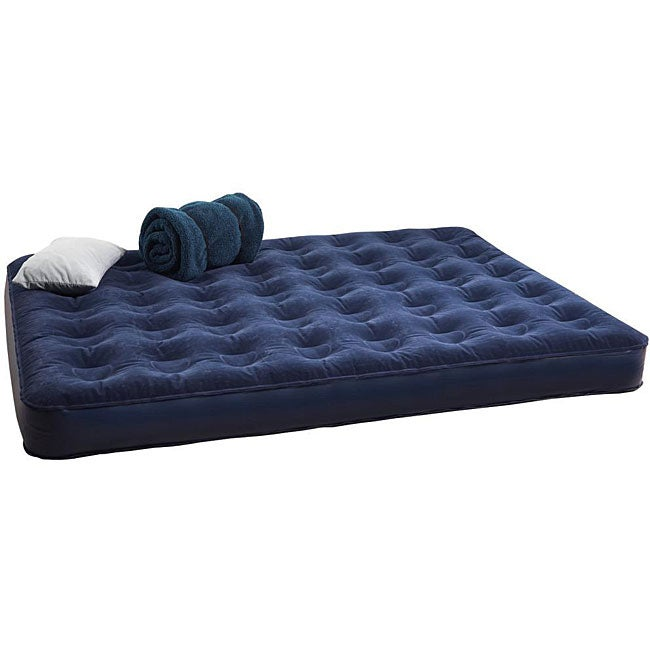 Texsport Deluxe Full Size Air Bed with Built In Battery