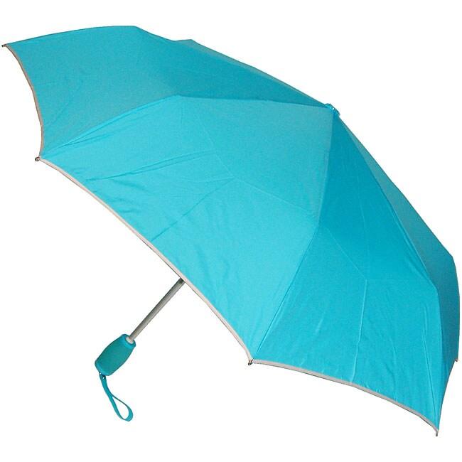 Samsonite Light Blue Gel Handle Manual Umbrella Pack Of 2