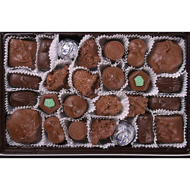 Bidwell Candies 1-pound Sugar-free Deluxe Chocolates Box - Thumbnail 0