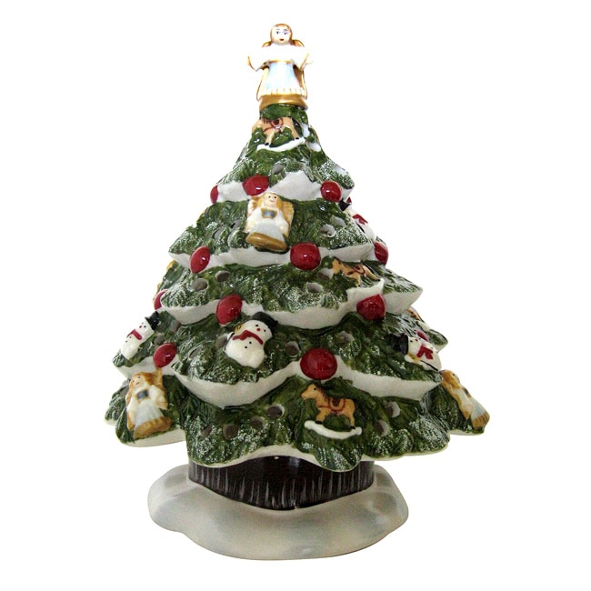 Villeroy And Boch 7 5 Inch Christmas Tree Votive Candle