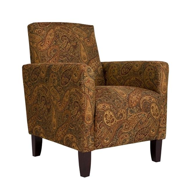Portfolio Gia Paisley Urban Arm Accent Chair Free