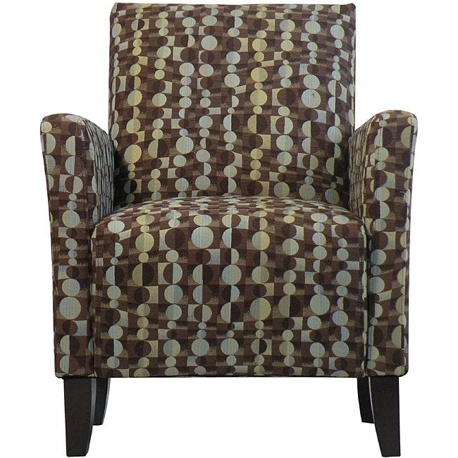 Gia Urban Arm Chair Orbit Brown Blue