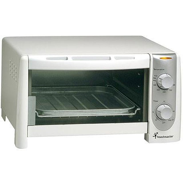 Toastmaster TOV350W Four slice Toaster Oven Broiler Refurbished