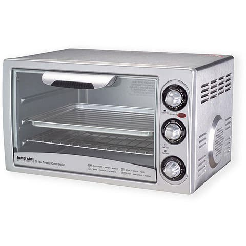 Better Chef XL IM-259 SS Family-sized Toaster Oven Broiler
