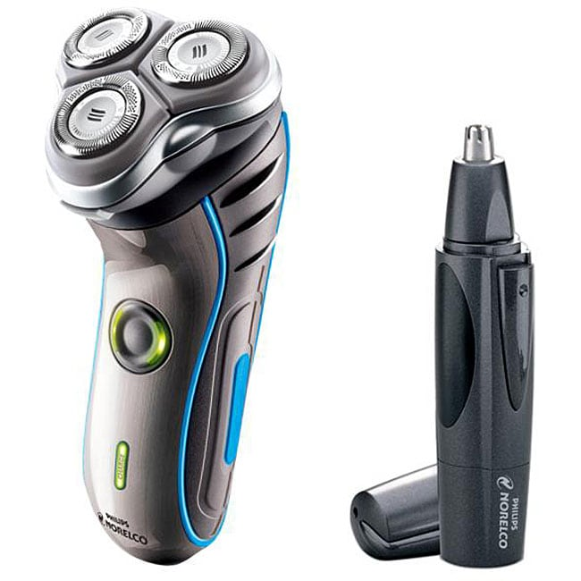 Norelco 7145xl Men S Electric Razor With Nose Hair Trimmer