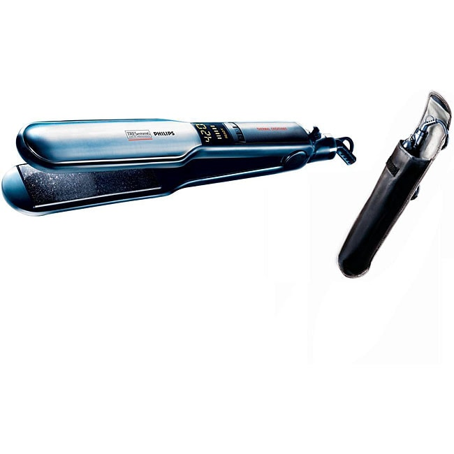 TRESemme Philips 2-inch Thermal Creations Digital Flat Iron and Pouch