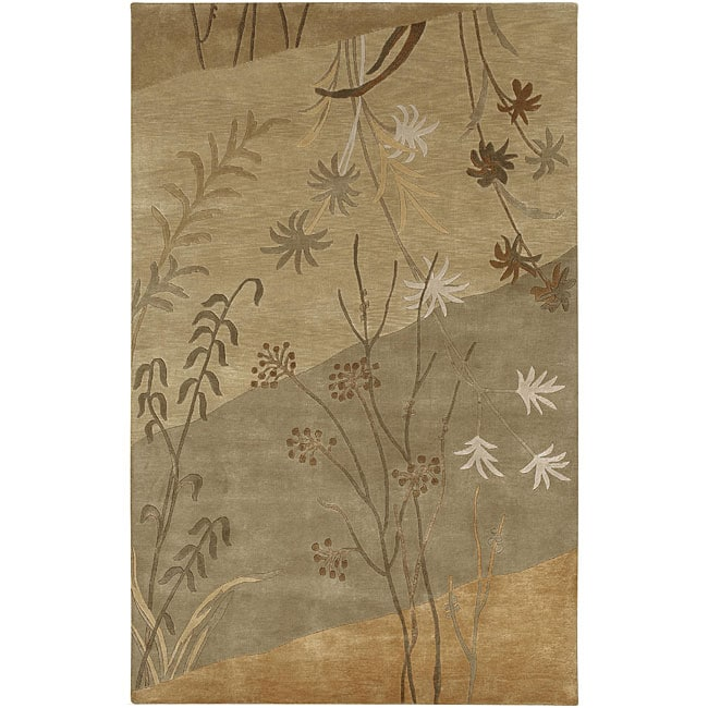Hand-knotted Karur New Zealand Wool Area Rug (8' x 11')