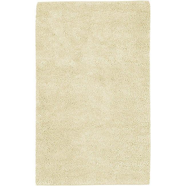 Hand-woven New Zealand Felted Wool Rug (4' x 10')